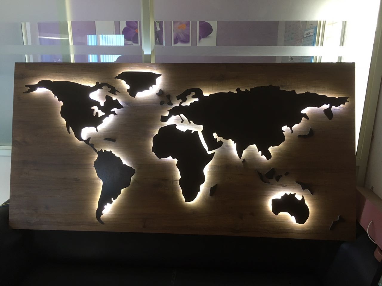 MDF WORLD MAP